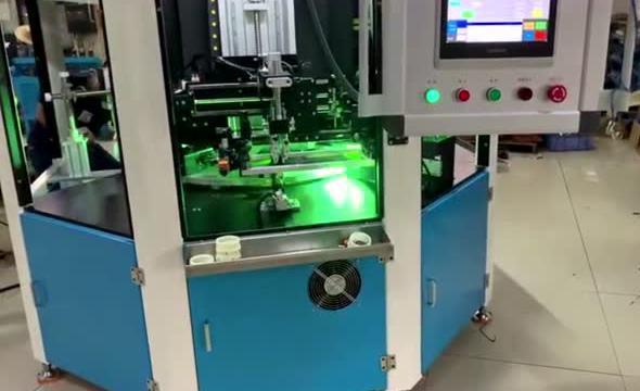 八工位网板印刷机高精高效控制技术方案