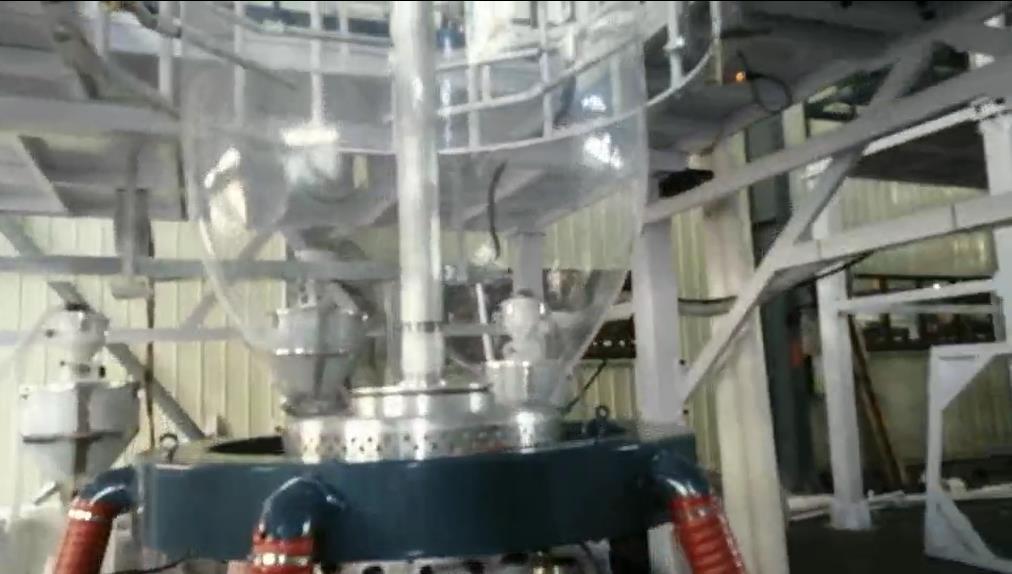 中山黄埔某厂的吹膜机项目